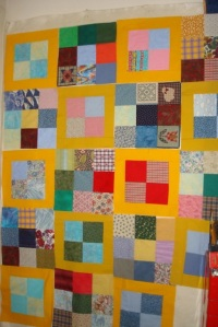 t's hard for me, even given all the blocks and fabrics, to make a quilt like someone else...